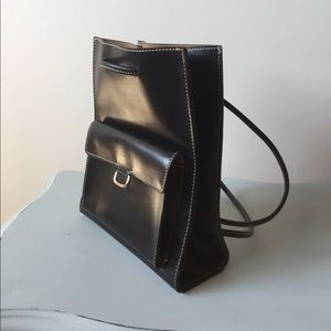 Chic Black Backpack Purse!